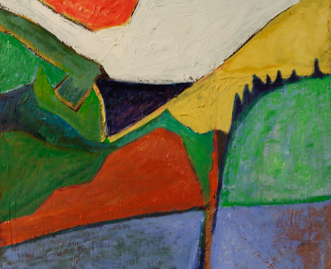 Abstract Landscape,  Maine
