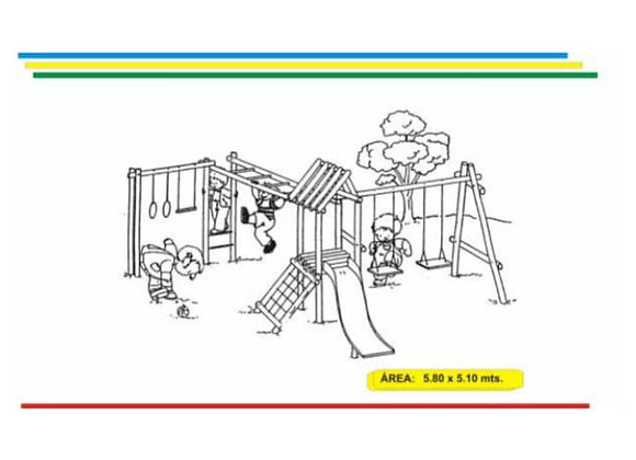 Parques en madera inmunizada #12
