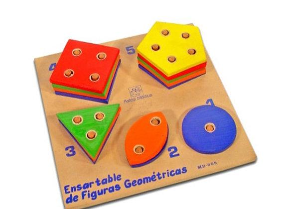 Ensartable de figuras geométricas