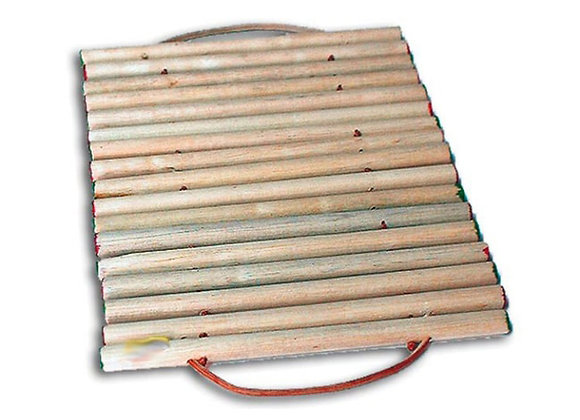 Esterilla en madera