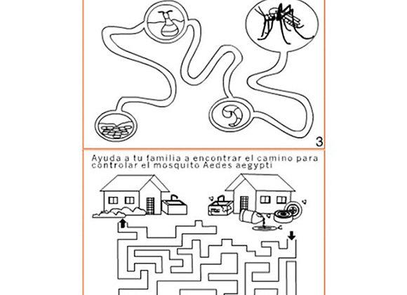 Prevengamos el dengue x 9 tamaño: 12.9x9.6 cm
