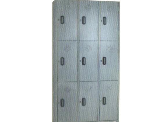 Locker 3x3 puestos