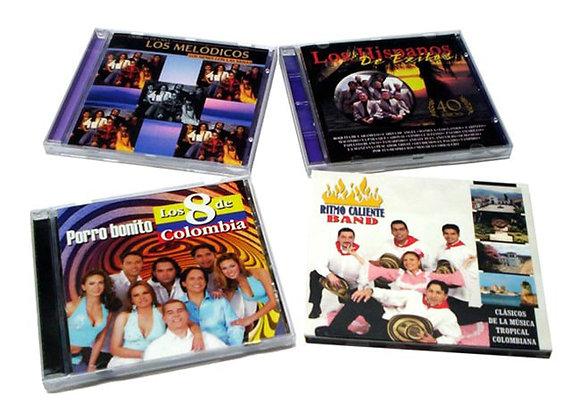 CD música tropical