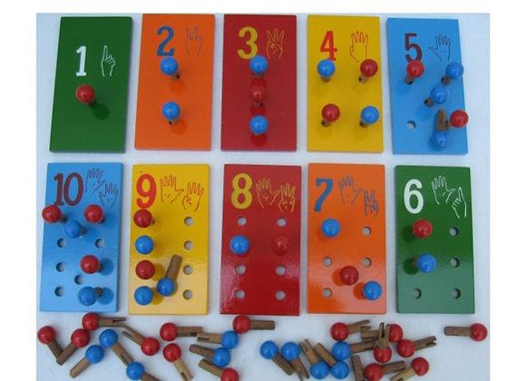 Juego de contar del 1 al 10
