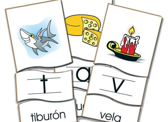 Rompecabezas alfabético español