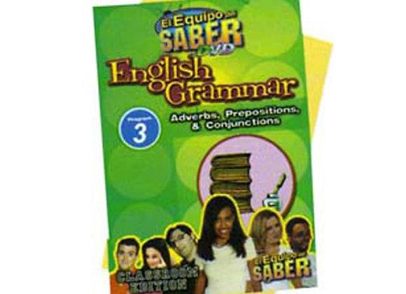 Gramática del inglés módulo: 3 Adverbios, preposiciones y conjunciones