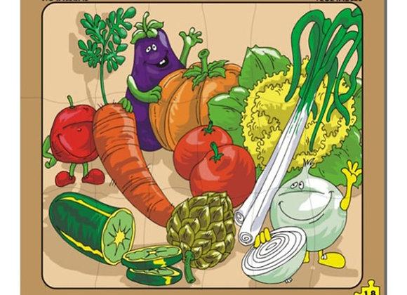 Rompecabezas hortalizas