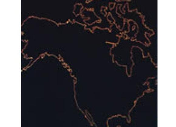 Mapa mudo Norte América