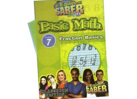 Matemáticas básicas módulo: 7 Conceptos básicos de fraccionarios