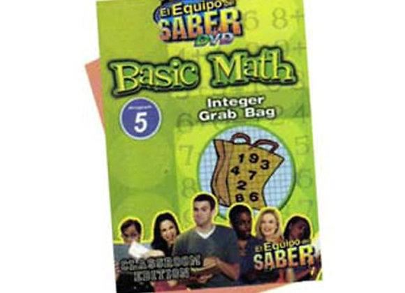 Matemáticas básicas módulo: 5 Nociones esenciales