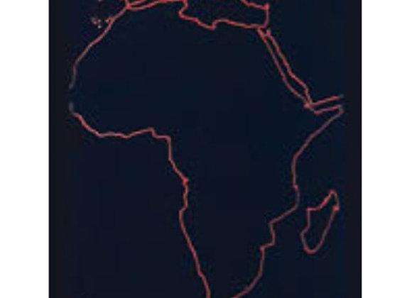 Mapa mudo África