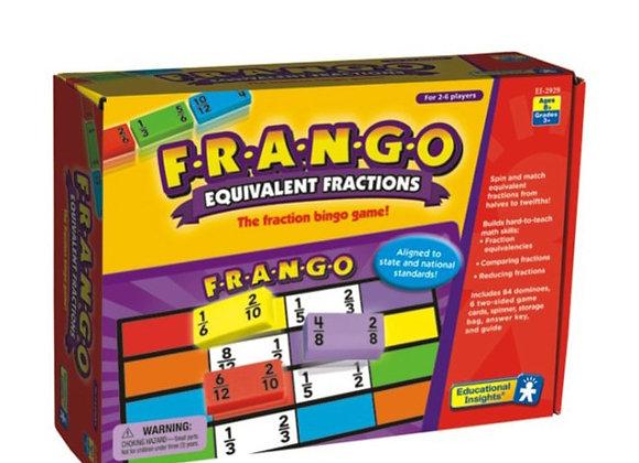Juego de fracciones equivalentes