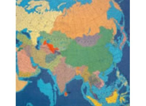 Mapa Asia político
