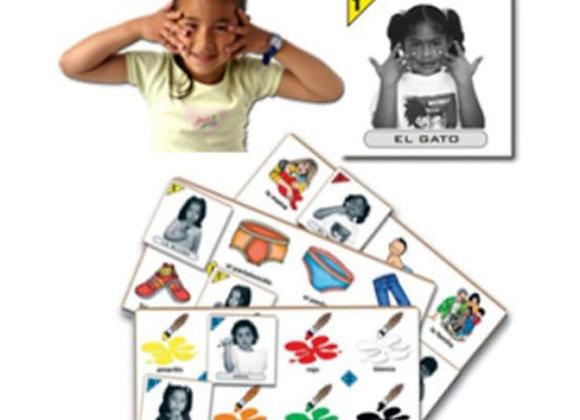 Kit lotería lengua de señas