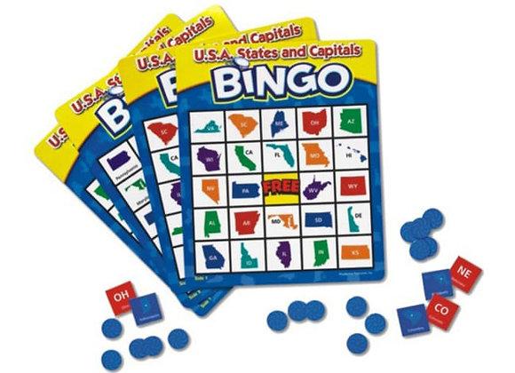 Bingo estados y capitales de USA