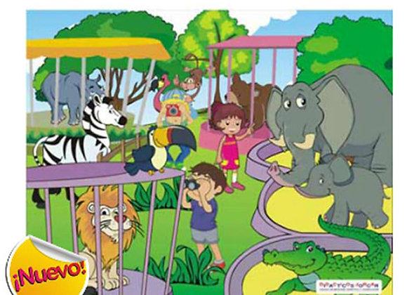 Rompecabezas el zoológico