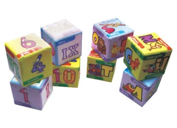 Cubos letras o números