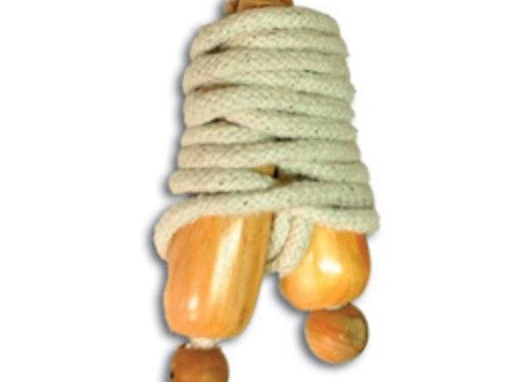 Lazo de algodón trenzado