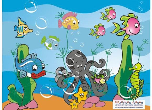 Rompecabezas acuario 2