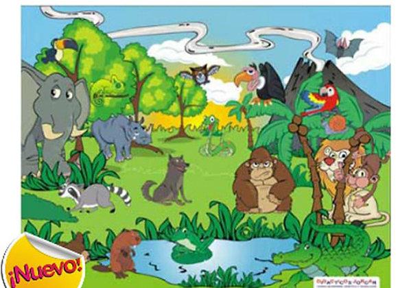 Rompecabezas animales salvajes