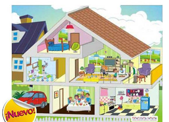 Rompecabezas la casa