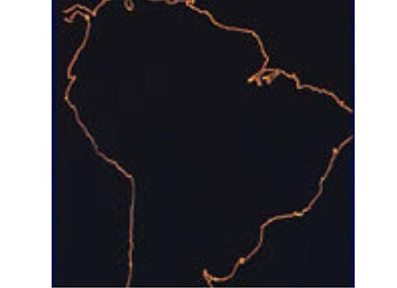 Mapa mudo Sur América