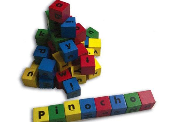 Alfabeto en cubos