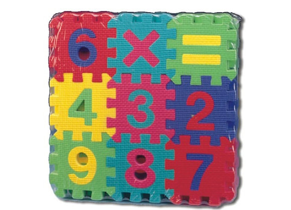 Tapete rompecabezas de matemáticas