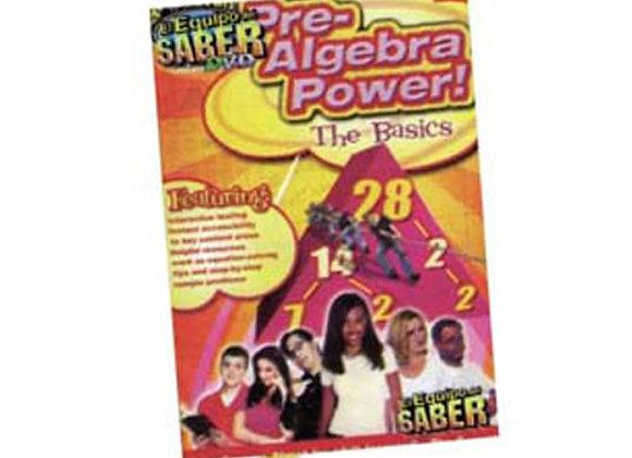 El poder del álgebra  Los conceptos básicos DVD interactivo