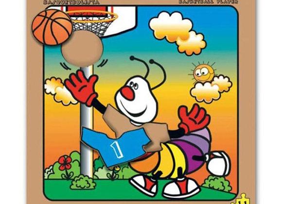 Rompecabezas basketbolista