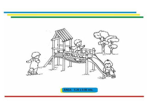 Parques en madera inmunizada #10