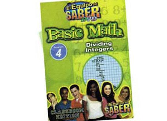 Matemáticas básicas módulo: 4 División de enteros