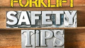 Know your Forklift Driving Techniques to be a SAFE Forklift Operator