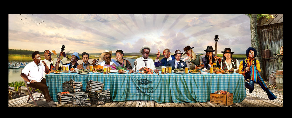 The Last Supper of the blues_Blues Burge