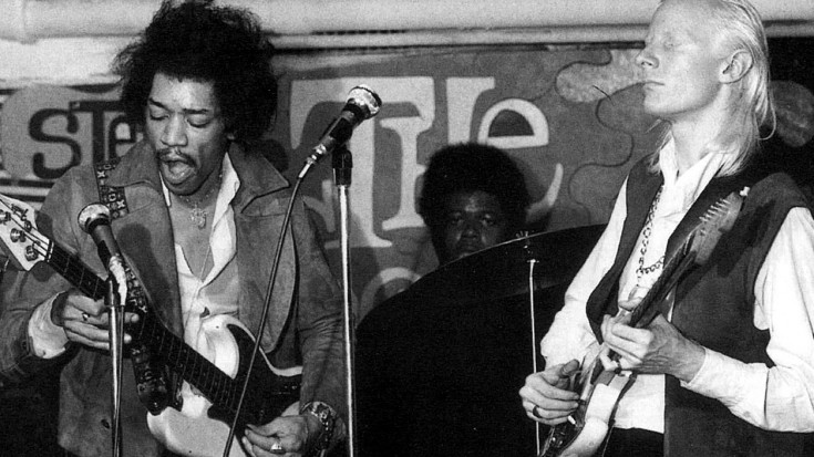 Jimi Hendrix & Johnny Winter