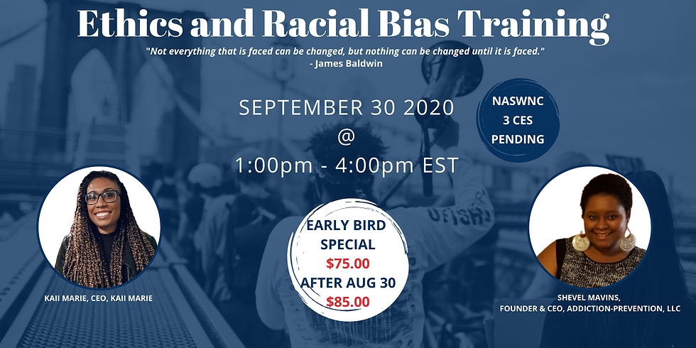 Ethics and Racial Bias Training