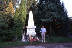 Me and Beethoven grave