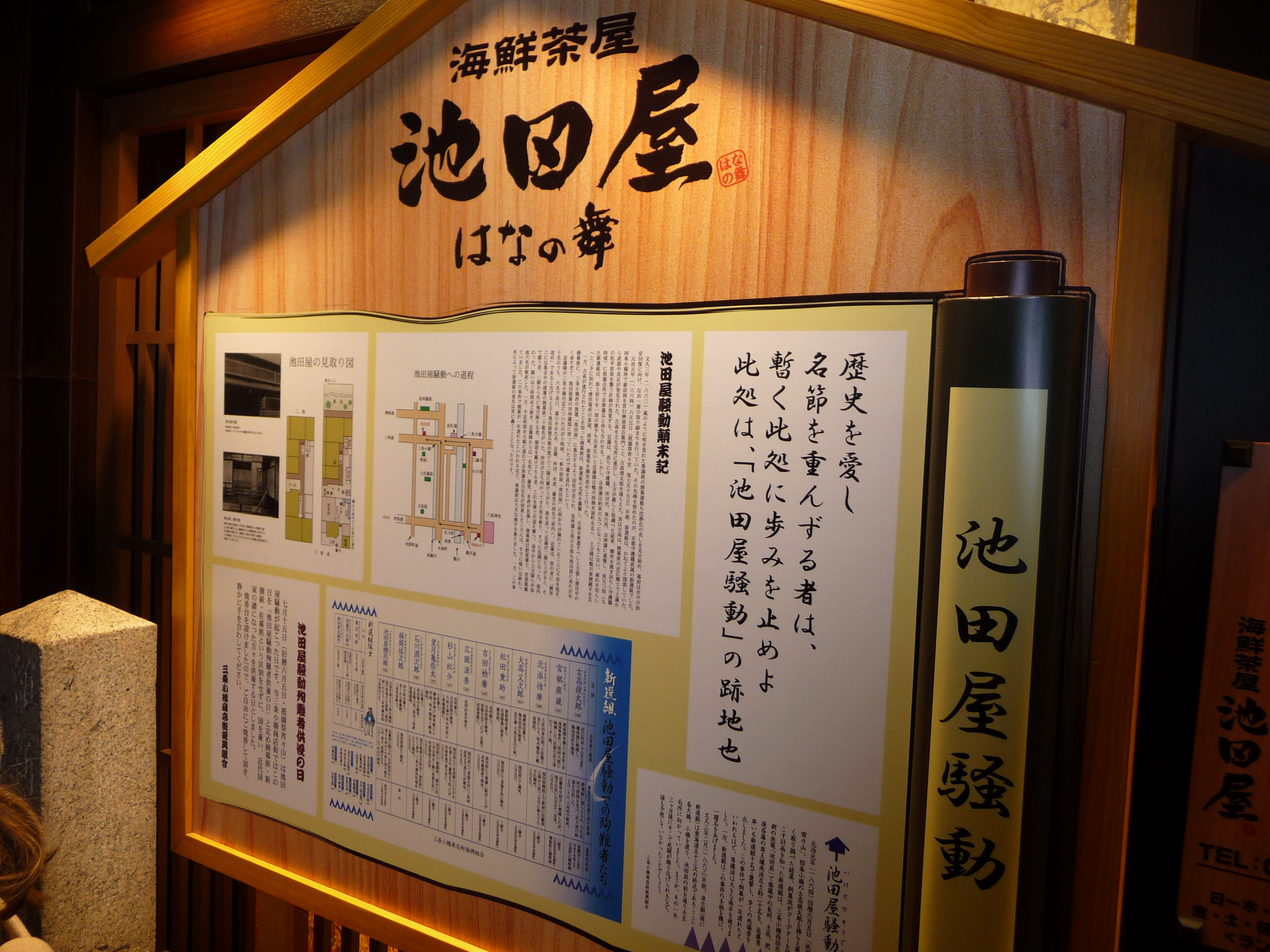 A Shinsengumi historic place