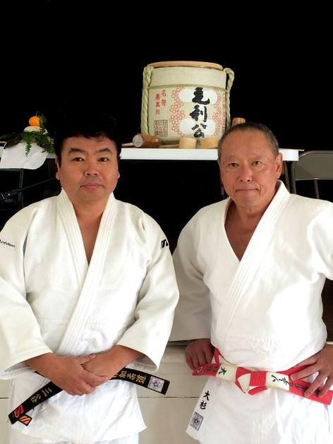 Sensei Kenji Osugi and me
