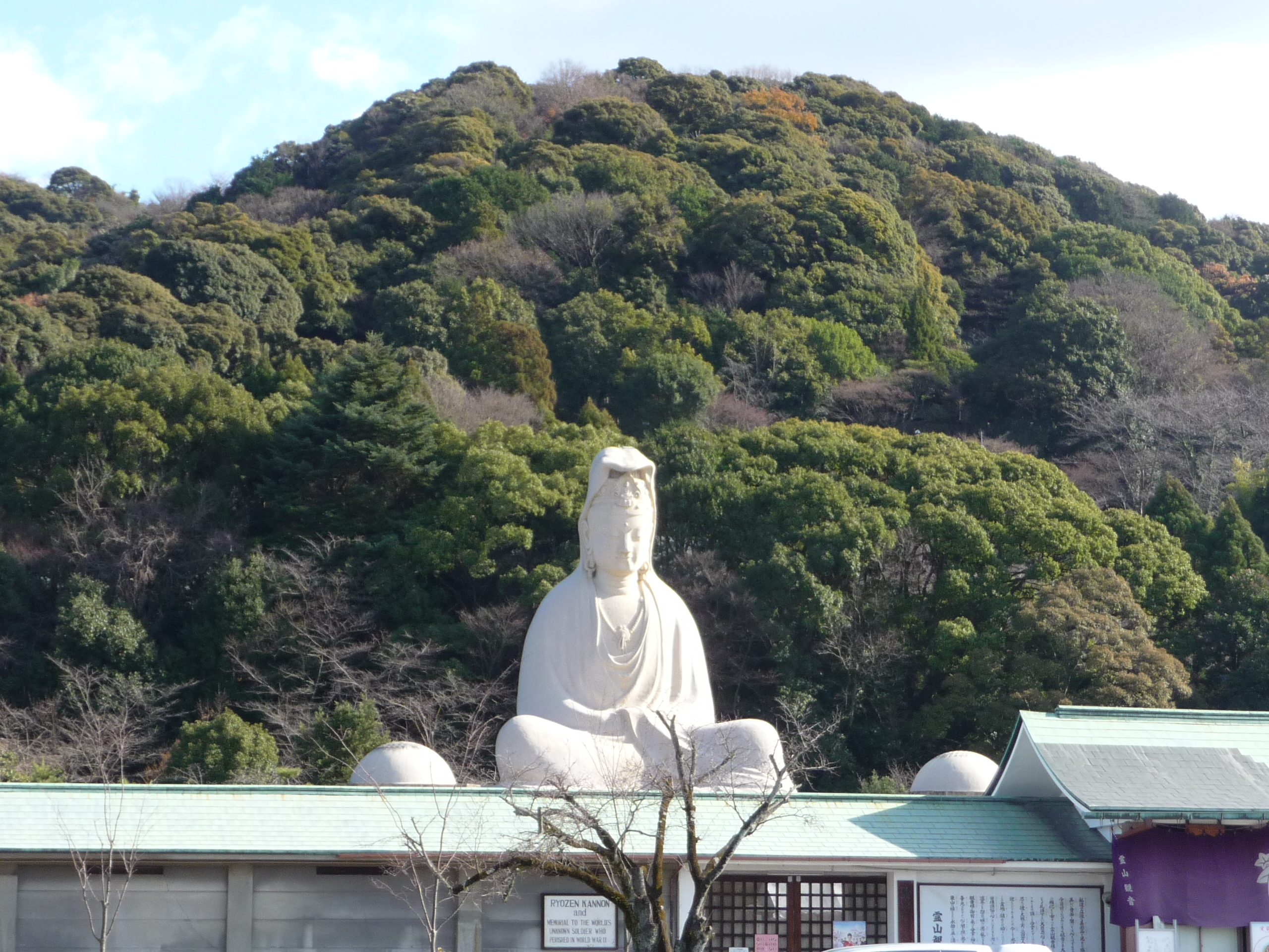 The Giant Buddha in Kamakura