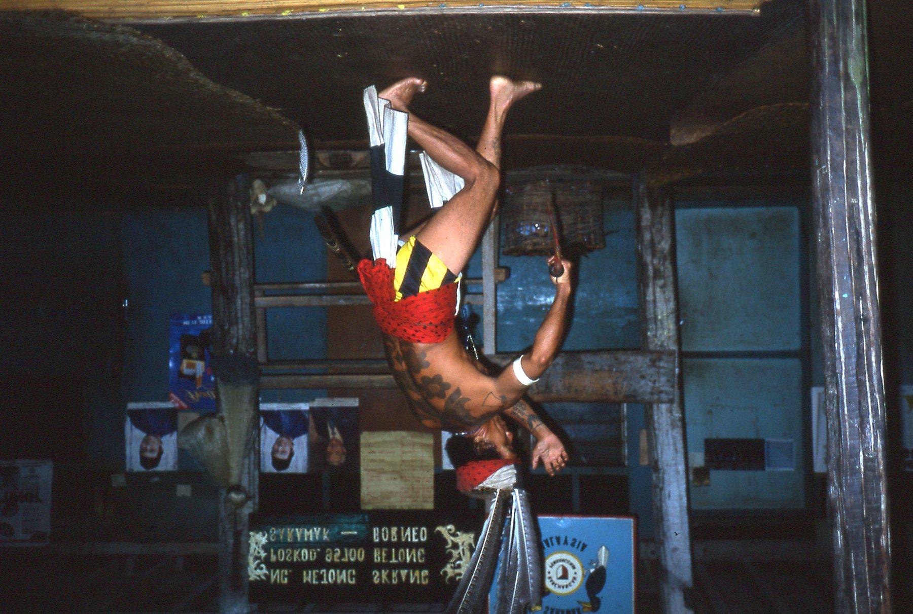Tradtional Borneo dance