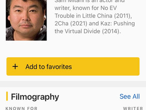 I have an IMDb page?