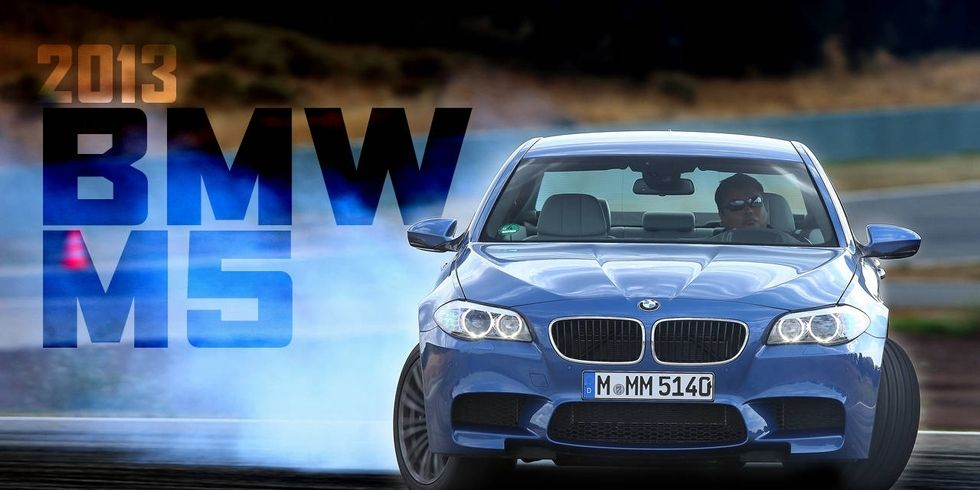 Sliding the BMW M5
