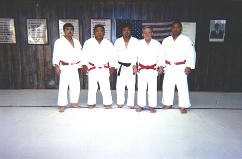 Kodokan Sensei's: Hirano, Fukushima, Abe, Enoki