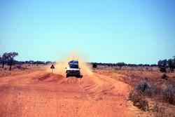 Driving through Bulldust