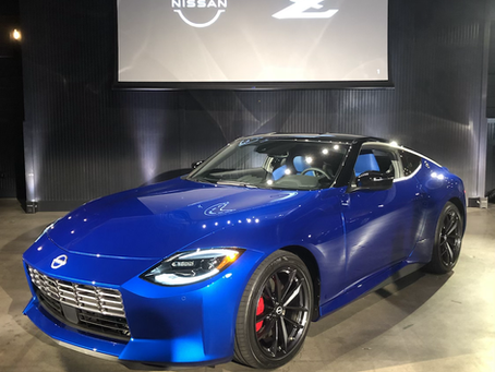 Checking out the new Z!