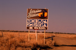 In the middle of the Outback