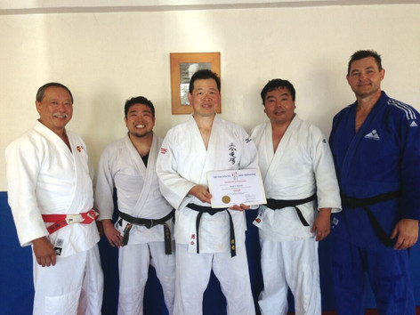 K. Ochiai gets promoted to shodan