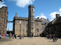 The square inside Edinburgh Castle