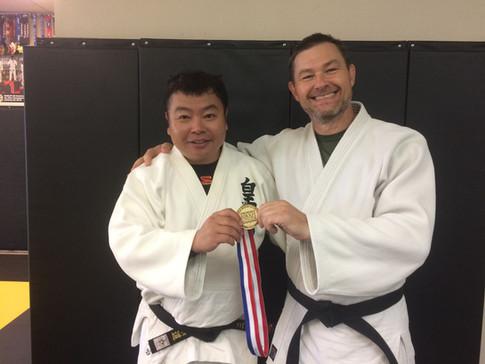 Oleg Ivanov and I strike Gold